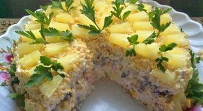 Бесподобный салатный торт «Чародейка»