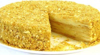 """Торт """"Наполеон"""", такого вкусного вы еще не пробовали!"""