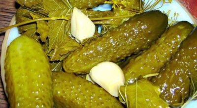 Хрустящие огурчики — очень необычный рецепт приготовления!