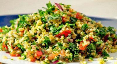 Очень сытный салат «Табуле»