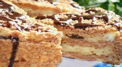 Пирог с творогом и черносливом: фигура на месте, желудок доволен!