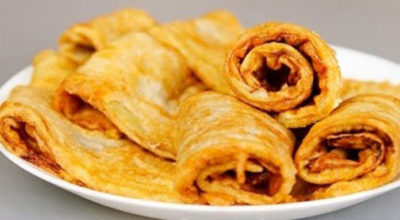 Вкусное блюдо из баклажан