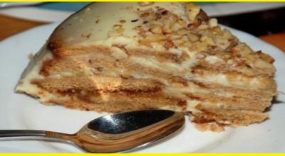 Холодный торт «Песочный рай»