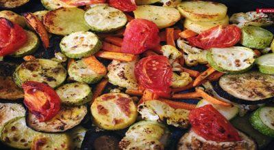 Благодаря нежному маринаду, запеченные овощи никого не оставят равнодушным