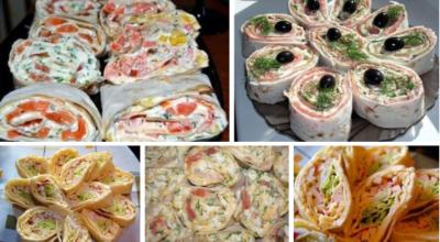 Закуски из лаваша — красиво, очень просто и невероятно вкусно!