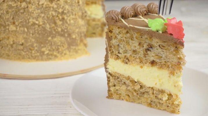 как испечь киевский торт в домашних условиях