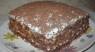 Рецепт быстрого торта давно в моей семье. Несмотря на то, что он быстро готовится — он очень вкусный!
