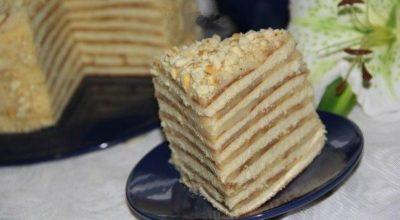 Торт «Kрепвиль», самый вкусный в мире!