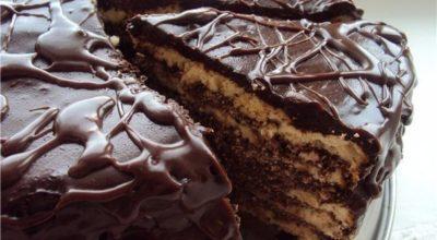 Обалденный торт на кефире «Черный принц»