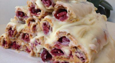 Любимый торт из детства «Монастырская изба»