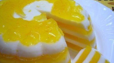 Десерт «Апельсиновое чудо»