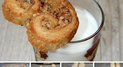Печенье «Ушки» из слоеного теста 👍