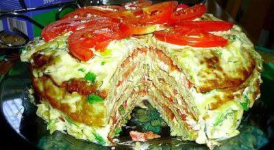 Вкуснейший кабачковый торт