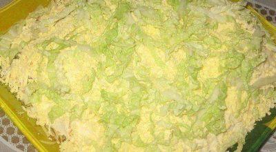 «Лебединый пух»- очень вкусный и нежный салат