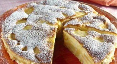 Итальянский пирог с яблоками. Когда его сделал муж, хвалила даже теща!