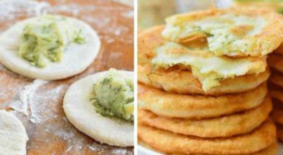 Особенный рецепт. Пирожки с картошкой на кефире