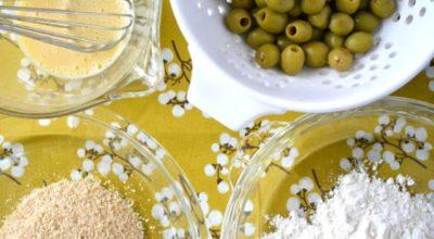 Жареные оливки. Оригинальная закуска