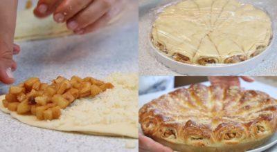 Сколько можно печь одну и ту же шарлотку? «Яблочные рожки»: необычный пирог, который тает во рту