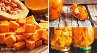 Заготовка на зиму. Баночку с «манго из тыквы» откройте на Новый год — гости от нее не оторвутся!