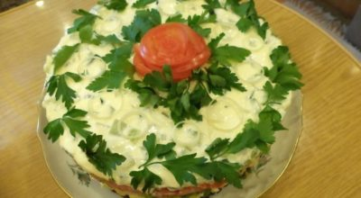 Самая лучшая подборка праздничных салатов! ТОП-35 вкусных рецептов!