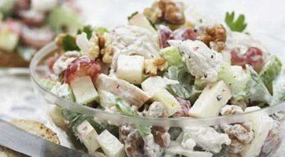 Я влюбилась в этот салат-новый год 2019-Вальдорфский салат