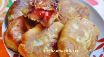 Пирожки на сковороде «Воздушные» на кефире