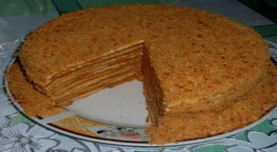 Медовый торт «Особенный»