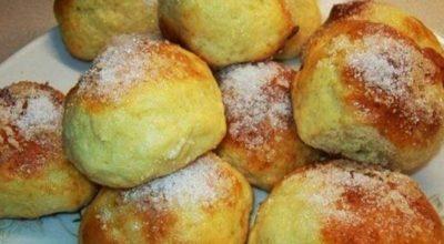 Аппетитные творожные булочки за 15 минут. Рецепт для лентяев, которые любят вкусно поесть!