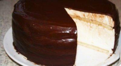 Рецепт домашнего торта «Эскимо»